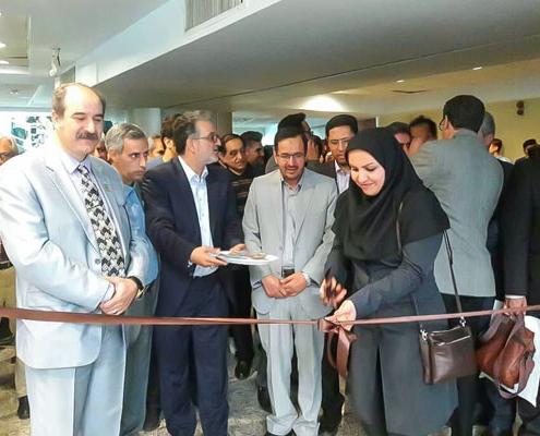 گزارش تصویری از برگزاری نمایشگاه خوشنویسی در کرج