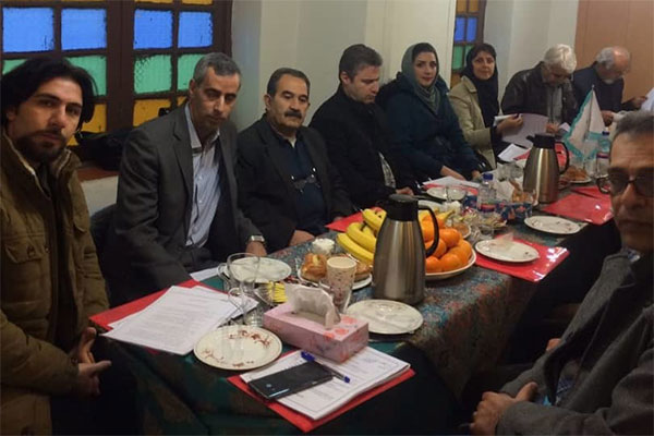 انتخاب سرپرست انجمن خوشنويسان