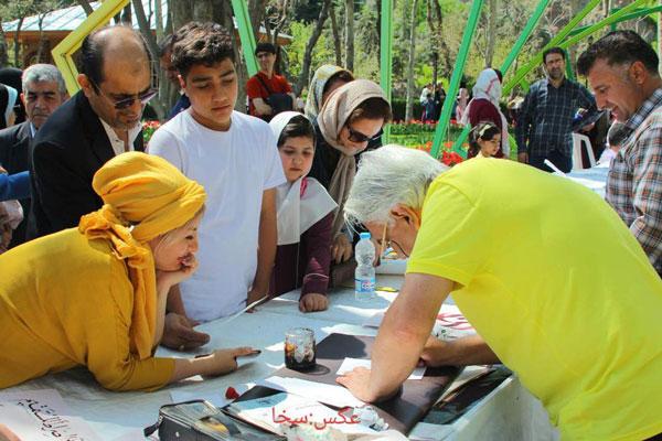 ورکشاپ خوشنویسی انجمن خوشنویسان کرج
