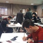 آزمون میان دوره انجمن خوشنویسان کرج