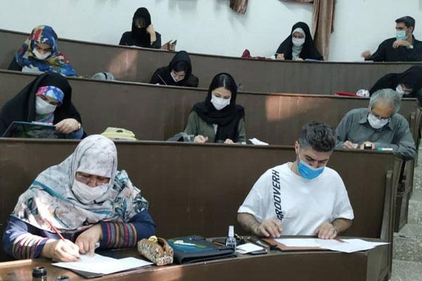 ۳۵۰هنرجو در آزمون انجمن خوشنویسان البرز شرکت کردند